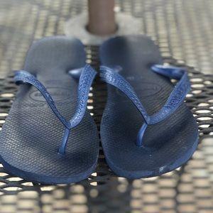 Havaianas Navy Flip Flops